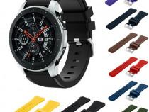 Curea smartwatch SAMSUNG GALAXY WATCH gear s4/folie sticla g