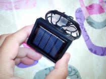 Ventilator solar pentru sapca