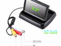 Kit Camera Marsarier + Monitor Lcd 4 3 Inch