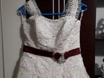 Rochie mireasa + accesorii