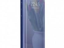 Husa Telefon Flip Book Clear View Huawei P30 Lite Dark Blue