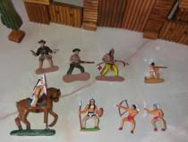Fort din lemn jucarie ptr cowboy si indieni