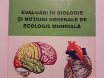 Evaluari in biologie si notiuni generale de ecologie