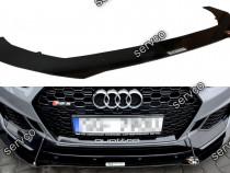 Prelungire splitter bara fata Audi RS5 F5 COUPE 17-19 v6
