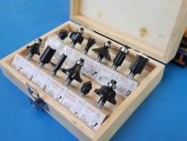 Set (12 buc) freze tolsen lemn / 6.30mm - calitate garantata