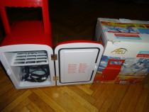Mini Frigider de Calatorie,RACIRE+INCALZIRE,4l.Auto:12v-230v
