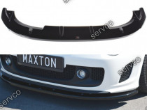 Prelungire splitter bara fata Fiat 500 Abarth MK1 08-12 v4