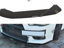 Prelungire splitter bara fata Mitsubishi Lancer Evo X v2