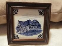 Pictura murala pe placa ceramica