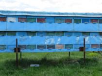 Pavilion apicol tip container