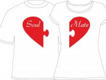 """Tricou personalizat """"Soul Mate"""""""