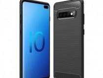 Samsung S9 S10E S10 S10+ Husa Carbon Ultra Slim Din Silicon