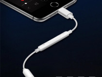 Iphone 7 7+ 8 8+ x xs xr xs max adaptor pentru casti jack