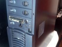 Carcasa PC albastru metalizat usb frontal