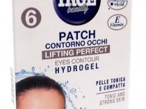 Plasturi pentru zona ochilor cu efect lifting perfect 6 buc
