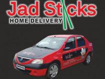 Livratori cu masina personala - Echipa Jad Sticks Bucuresti