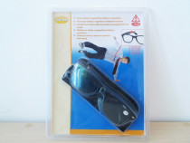 Ochelari de citit +2 cu clips de prindere cu magneti, noi !