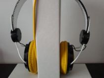 Căști stereo Voxmix Over-Ear cu microfon pe fir