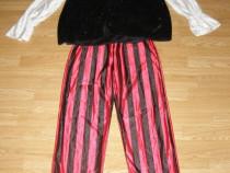 Costum carnaval serbare pirat pirata pentru adulti marime L