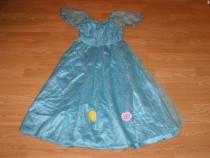 Costum carnaval serbare rochie babrie printesa 6-7-8 ani