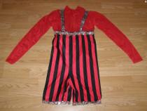 Costum carnaval serbare rochie dans 9-10 ani