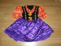 Costum carnaval serbare zana toamnei floare 4-5-6 ani