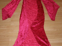 Costum carnaval serbare rochie vrajitoare diavolita adulti M