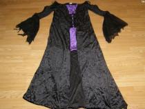 Costum carnaval serbare rochie medievala vrajitoare adulti L