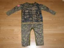Costum carnaval serbare militar soldat 1-2 ani 12-18 luni