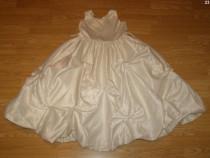 Costum carnaval serbare rochie gala ingeras 4-5 ani