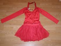 Costum carnaval serbare rochie dans pentru adulti marime M