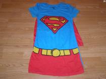 Costum carnaval serbare superman supergirl pentru adulti S