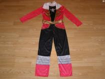 Costum carnaval serbare power rangers ninja 4-5-6 ani