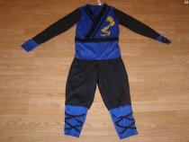 Costum carnaval serbare ninja 6-7 ani