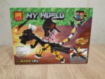 Set de 150 piese lego Minecraft - My World ( LELE 33195-4 )