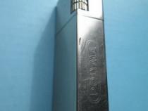 5387a-I-Bricheta Polyma H Gas butan incompleta, metal argint