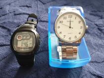 Ceasuri Quartz Casio W-210 și Diniho 5024G