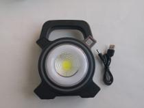 Lanterna de mana cu led cob
