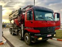 Pompă de Beton Schwing 28m Mercedes-Benz Actros