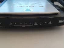 Router wireless Linksys WRT350N v2.1, 2.4 GHz, 3 antene, Gig