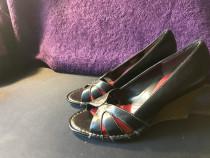 Sandale piele cu talpa plina mar 37