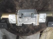 Distribuitor hidraulic DN-10 cu bobine la electrice 220 V