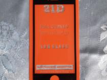 Folie sticlă securizată iPhone 5/5S/SE (față, contur negru)