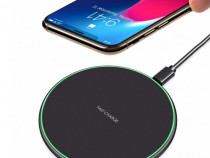 Incarcator Wireless Fast Charge Samsung S10 S9 S8 iPhone X 8