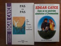 Lot 2 carti EDGAR CAYCE / C44P
