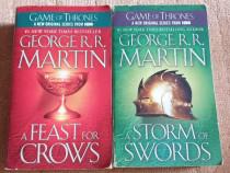 George R.R. Martin - Games Of Thrones - 2 carti