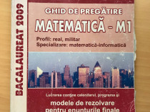 Ghid de pregatire pentru bacalaureat, matematica-M1, 2009