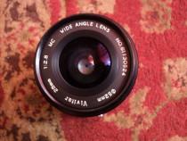 Obiectiv foto vivitar 28mm 1:2.8, montura pentax