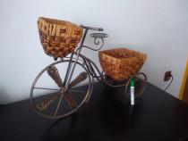 2 suporti ptr flori - tip bicicleta si scarita