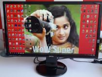 Monitor led benq 24 inch = 61 cm